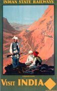 Indian State Railways - Khyber Pass art print