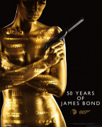 James Bond - 50th Anniversary art print