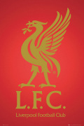 Liverpool - Club Crest 2013 art print