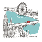 London I art print