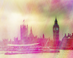 London Morning giclee art print