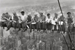 Lunch on a Skyscraper art print