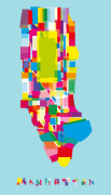 Manhattan Fragments giclee art print