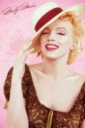Marilyn Monroe - Hat art print