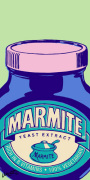 Marmite - Green (detail) giclee art print