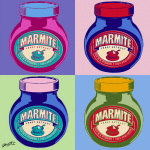 Marmite - Multi 2 giclee art print