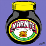 Marmite - Original (Purple) giclee art print