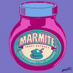 Marmite - Purple giclee art print
