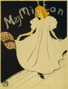 May Milton, 1895 giclee art print