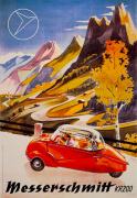 Messerschmitt Bubble-Car, 1955 giclee art print