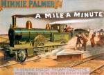 Minnie Palmer - Mile a Minute, 1891 giclee art print