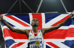 Mo Farah, London 2012 Olympic Games giclee art print
