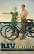 NSU Cycles, 1930 giclee art print
