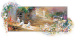 Peaceful Yard giclee art print