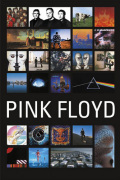 Pink Floyd - Collage art print