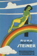 RUKA Advertising Studio, Berlin 1919 giclee art print