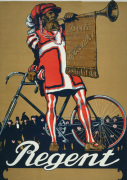 Regent Cycles, 1910 giclee art print
