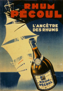 Rhum Pecoul - Martinique, 1930 giclee art print