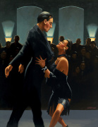 Rumba in Black art print