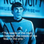 Star Trek - Spock I.Quote art print