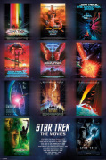 Star Trek - The Movies art print