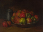 Still Life with Apples and a Pomegranate giclee art print