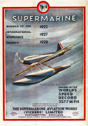 Supermarine - Schneider Trophy Winner art print