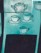Tea Cups giclee art print