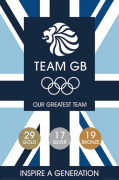 Team GB - Inspire A Generation art print