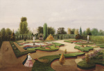The Alhambra Garden, Elvaston Castle giclee art print