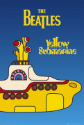 The Beatles - Yellow Submarine Cover art print