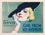 The Girl from 10th Avenue giclee art print