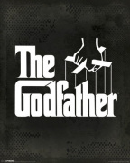 The Godfather - Logo art print