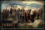 The Hobbit - Cast art print