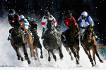 The White Turf race meet St. Moritz 2006 giclee art print
