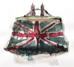 Tower Bridge Clutch giclee art print