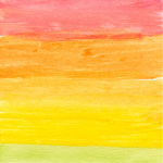 Watercolour 4, 2011 art print