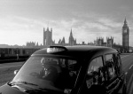 Westminster Bridge cabby giclee art print