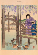 Wisteria Blossoms at Kameido giclee art print