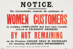 Women Customers art print