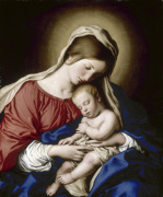 The Madonna and Child giclee art print