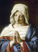 The Virgin in Prayer giclee art print
