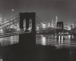 Brooklyn Bridge 1948 art print