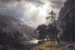 Half Dome, Yosemite Valley art print