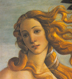 The Birth Of Venus (Detail) art print