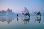 Taj Mahal, Inde art print