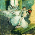 Ballet Dancers, About 1890 art print