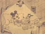 Mickey Plays Papa art print