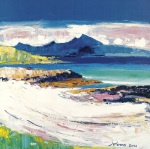 Beach, Isle of Ulva art print