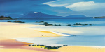 Eigg from Kilmory art print